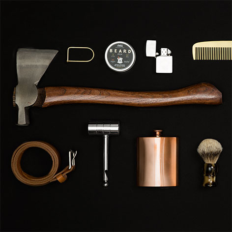 Photo of a bunch of high quality items that Bespokepost sells