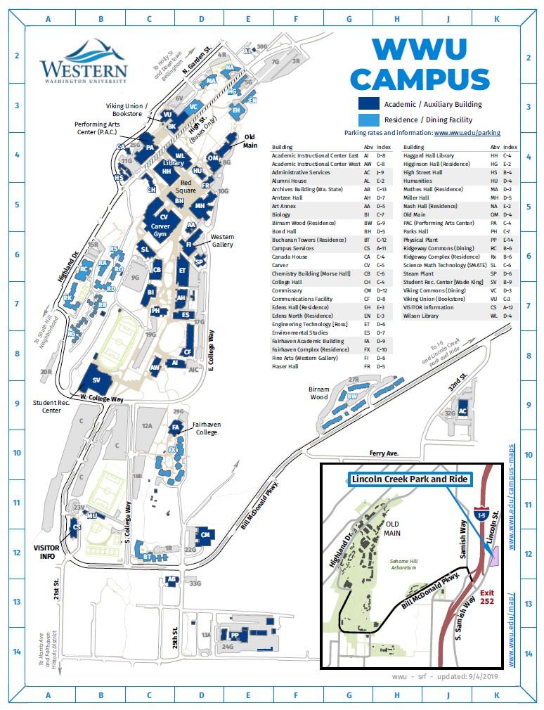 Campus Maps | Western Washington University