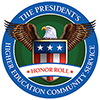 US President Honor Roll logo - an eagle with spread wings