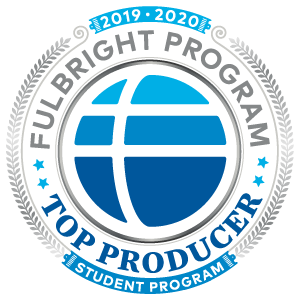 Fulbright Program Top Producer badge