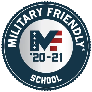 Military Friendly School 20-21 badge